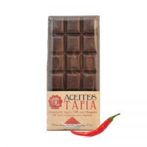 chocolate con AOVE y picante