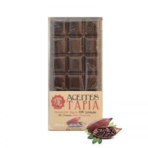 Chocolate 85% con AOVE