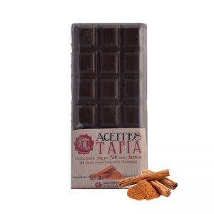 chocolate con AOVE y canela