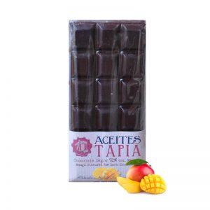 Chocolate con AOVE y mango